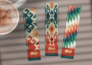 custom mixed colors bookmarks