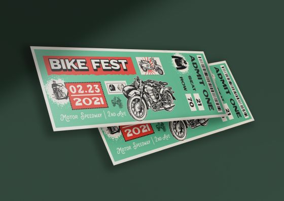 custom event tickets