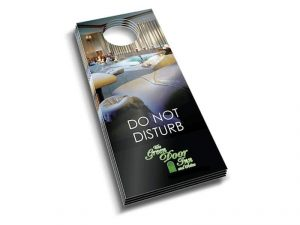 custom print door hanger