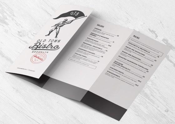 double parallel food menu