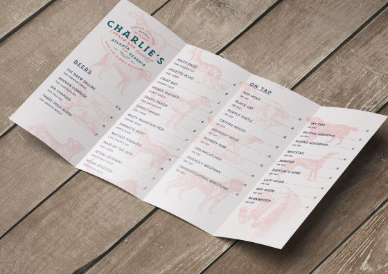 double parallel restaurant menu
