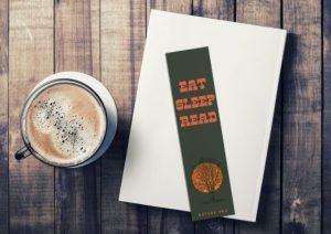 custom bookmarks with coffee