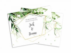 custom flat invitations custom
