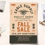 fall sale flyers