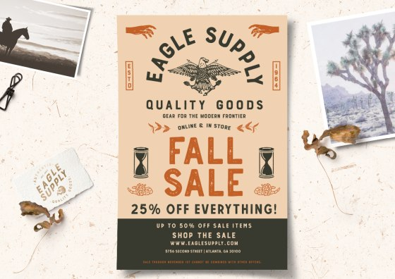 fall sale flyers