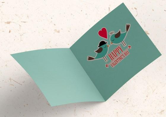 happy birthday folded card
