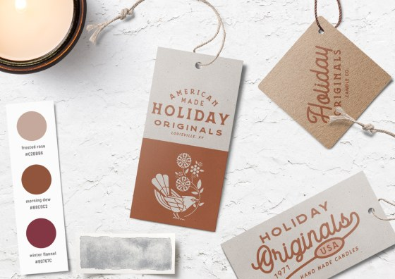 holiday hang tags