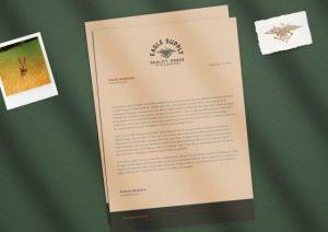 custom premium letterhead