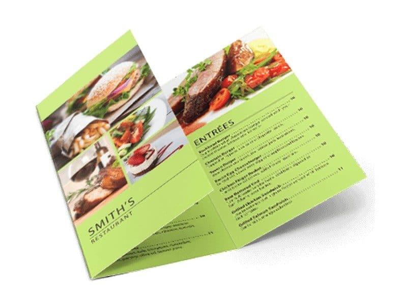 Menu Printing Custom Menus Restaurant Menu Printing