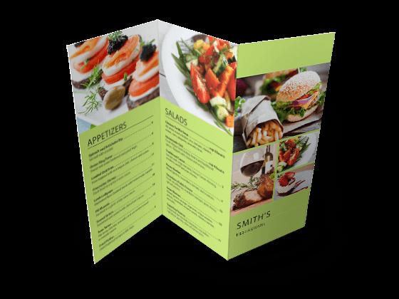 custom z fold menu
