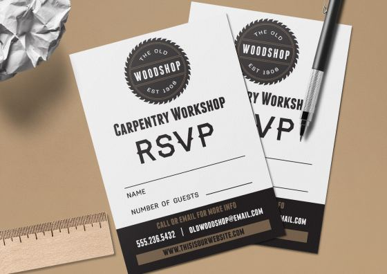 RSVP Business cards