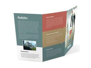 tri fold brochure print