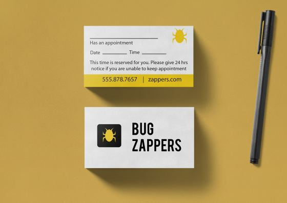 yellow theme apppontment cards
