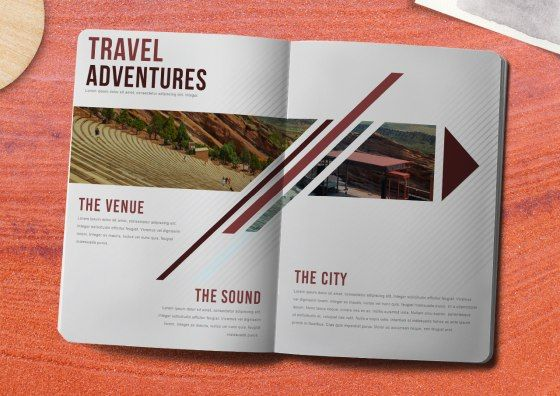 travel adventure booklets