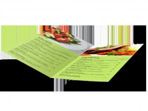 custom menu half fold 2