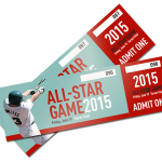 custom game tickets printing