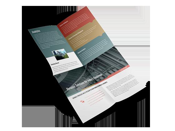 french fold brochure printing pgprint com