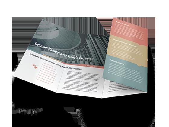 roll fold fold brochures