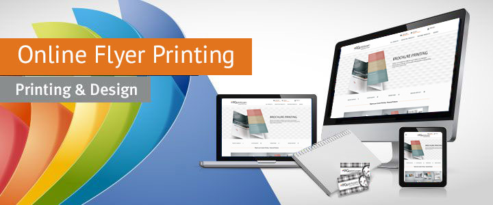 online flyer printing and design