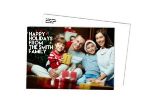 holiday flat cards print