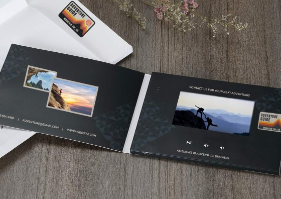 adventure video brochure