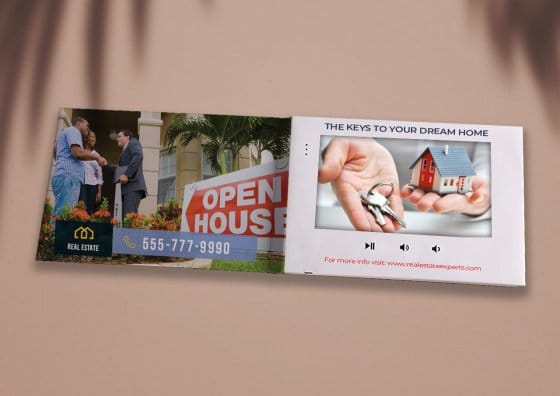 real estate video brochure