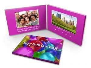 custom video greeting cards