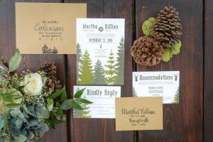 detailed wedding invitations