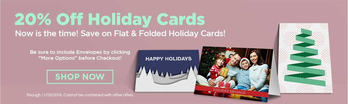 holiday card specials