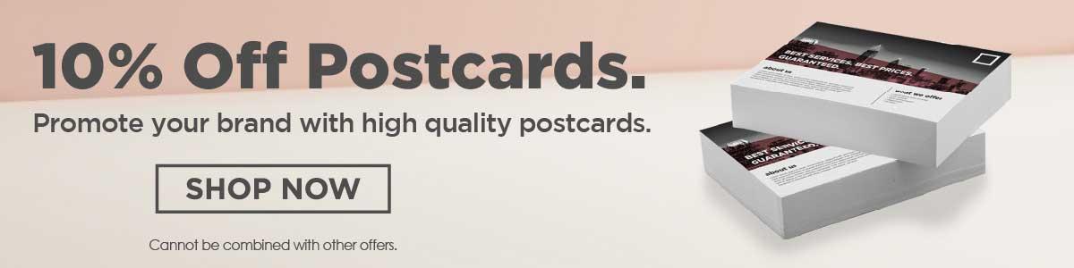 10% postcards december