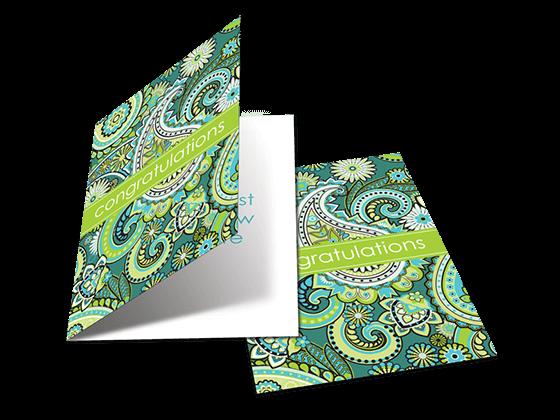 custom folded cards print
