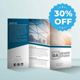 brochure promo