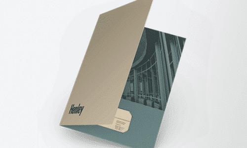 pocket folder custom