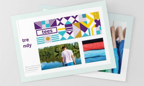 postcards custom promo