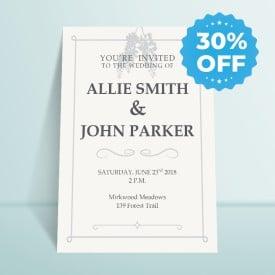 invitation sale