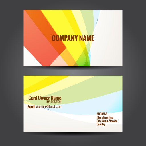 design your company custom card font