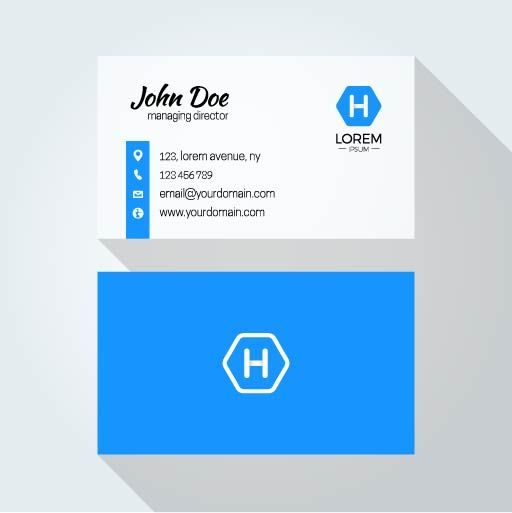 john doe sample business card