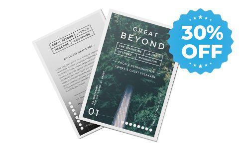 30% off sale for postcards