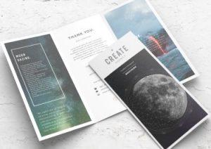 tri fold brochure small