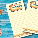 custom business notepad