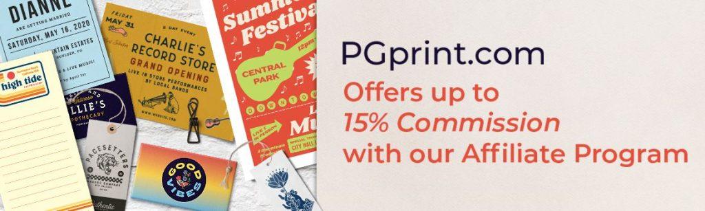 pgprint affliate program