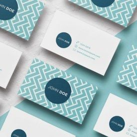soft business cards small size