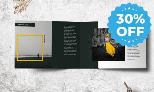 30% off booklet sale promo