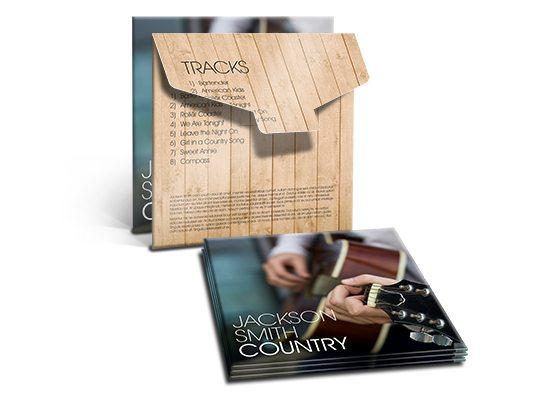 custom cd dvd deluxe tab sleeves
