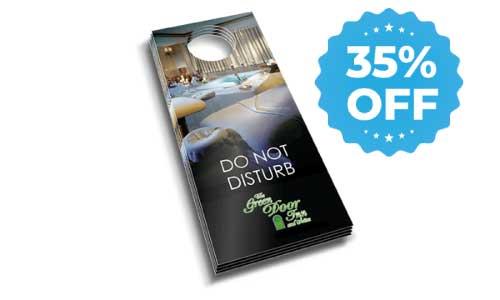 door hangers 35% off