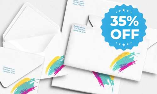 envelopes 35% off