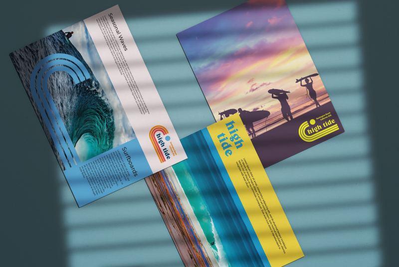 custom postcards beach theme