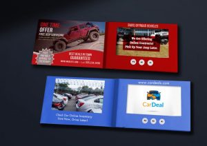 custom video brochures