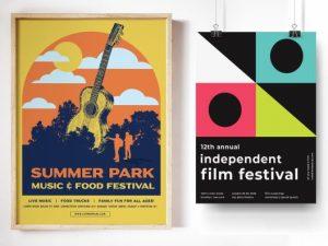 custom bulk posters music and movie theme