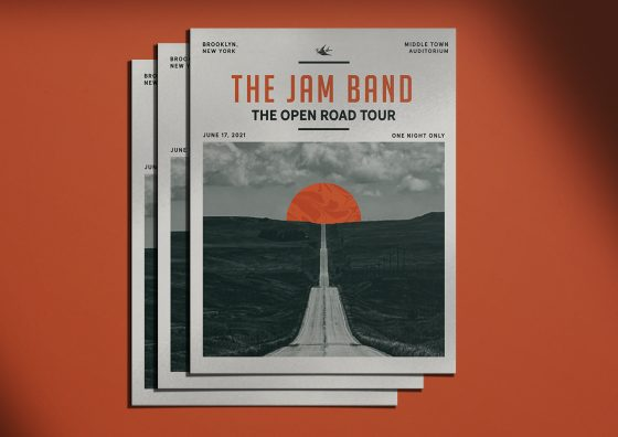 band bulk posters